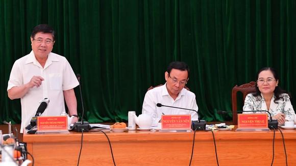 Bí thư Thành ủy TPHCM Nguyễn Văn Nên: 'Giải quyết công việc trôi chảy phục vụ người dân' ảnh 3
