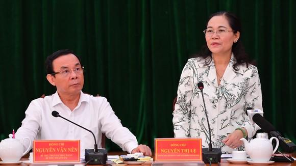 Bí thư Thành ủy TPHCM Nguyễn Văn Nên: 'Giải quyết công việc trôi chảy phục vụ người dân' ảnh 4