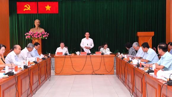 Bí thư Thành ủy TPHCM Nguyễn Văn Nên: 'Giải quyết công việc trôi chảy phục vụ người dân' ảnh 1