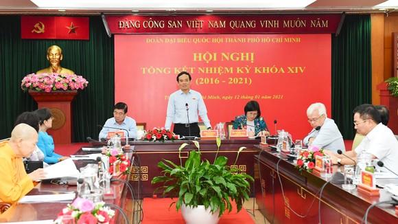 Đoàn ĐBQH TPHCM khóa XIV đã hoàn thành xuất sắc nhiệm vụ ảnh 2