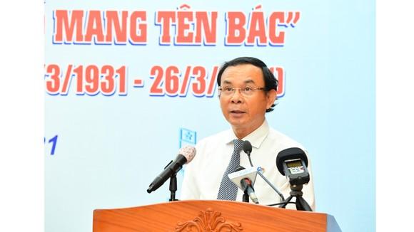 Đồng chí Nguyễn Văn Nên chia sẻ đầy xúc động, truyền cảm hứng cho thanh niên TPHCM ảnh 2
