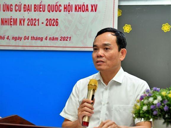 Tán thành giới thiệu đồng chí Trần Lưu Quang ứng cử ĐBQH ảnh 1