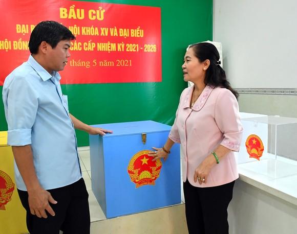 Tập trung tối đa, đảm bảo tiến độ công tác chuẩn bị bầu cử ảnh 1