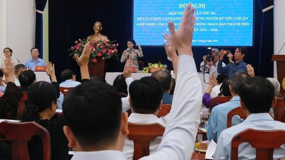 Hội nghị hiệp thương lần thứ ba: TPHCM còn 38 người ứng cử ĐBQH khóa XV ảnh 3