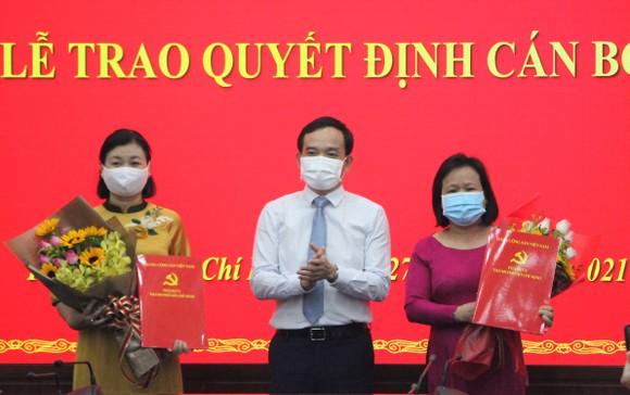 Trao quyết định nhân sự lãnh đạo báo Phụ Nữ TPHCM và Người Lao Động ảnh 1