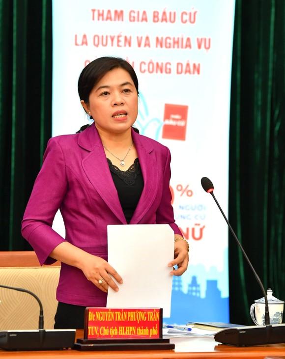 Chia sẻ kinh nghiệm vận động bầu cử cho nữ ứng viên ĐBQH, ĐB HĐND TPHCM ảnh 2