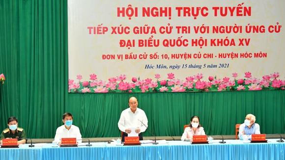 Chủ tịch nước Nguyễn Xuân Phúc: Sớm có tuyến cao tốc xuyên biên giới, giúp huyện Hóc Môn và Củ Chi đột phá phát triển ảnh 2