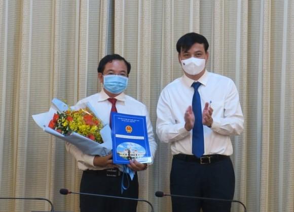 Ông Lê Quốc Tuấn được bổ nhiệm Chủ tịch HĐTV Công ty thoát nước đô thị TPHCM  ảnh 1