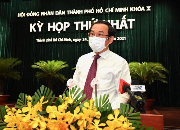 Bí thư Thành ủy TPHCM Nguyễn Văn Nên: Điều giản dị nhưng quan trọng nhất là làm tốt lời hứa với cử tri   ảnh 2