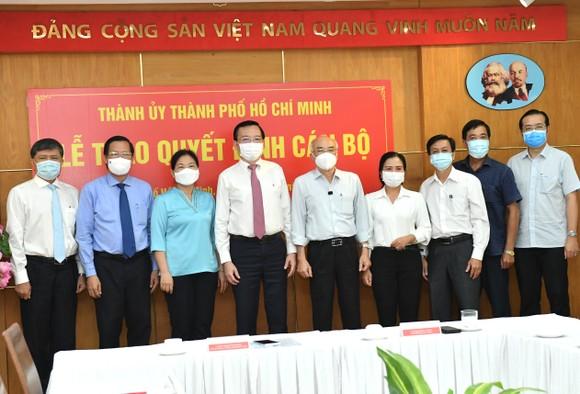 Đồng chí Lê Hồng Sơn làm Phó trưởng Ban Tuyên giáo Thành ủy TPHCM ảnh 3