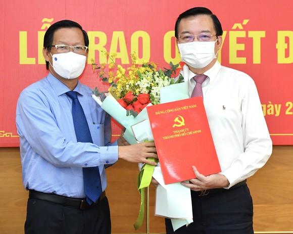 Đồng chí Lê Hồng Sơn làm Phó trưởng Ban Tuyên giáo Thành ủy TPHCM ảnh 1
