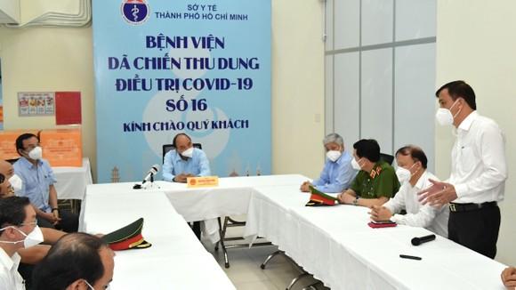 Chủ tịch nước Nguyễn Xuân Phúc: 'Vaccine phòng Covid-19 của Việt Nam không chỉ phục vụ Việt Nam mà còn vươn ra toàn cầu' ảnh 3