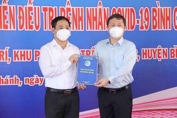 Huyện Bình Chánh đưa vào hoạt động bệnh viện dã chiến 1.000 giường ảnh 2
