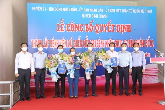 Huyện Bình Chánh đưa vào hoạt động bệnh viện dã chiến 1.000 giường ảnh 1