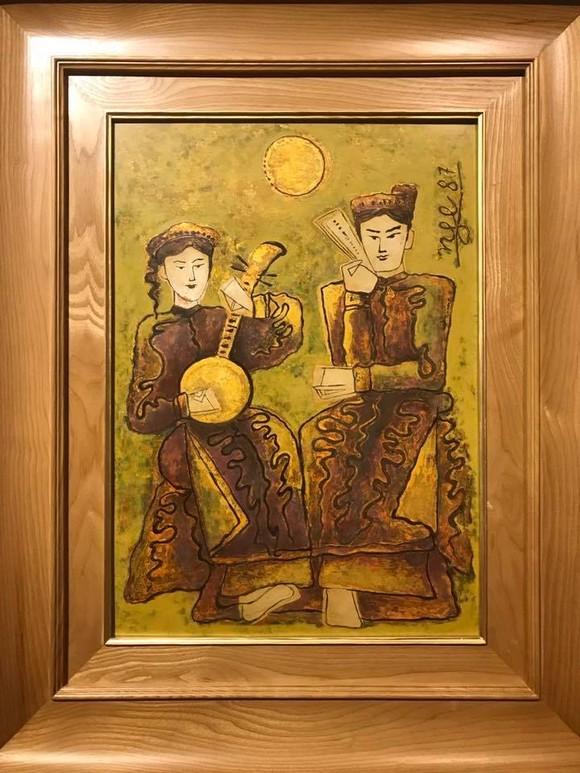 Nhiều tác phẩm của họa sĩ tên tuổi Việt Nam trong phiên đấu giá Chọn số 9 ảnh 2