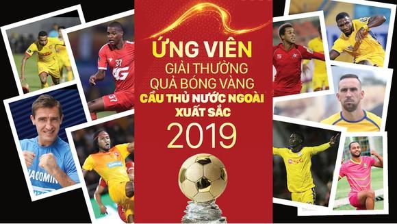 Ứng viên giải thưởng Quả bóng vàng cầu thủ nước ngoài xuất sắc 2019