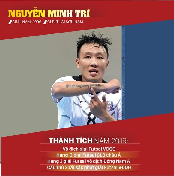 Ứng viên giải thưởng Quả bóng vàng futsal 2019 ảnh 7