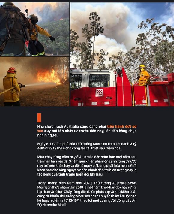 Australia 'oằn lưng' chống chọi thảm họa cháy rừng ảnh 17