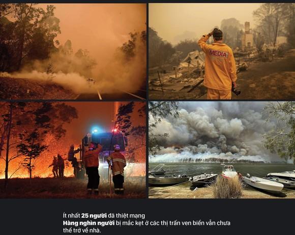 Australia 'oằn lưng' chống chọi thảm họa cháy rừng ảnh 3