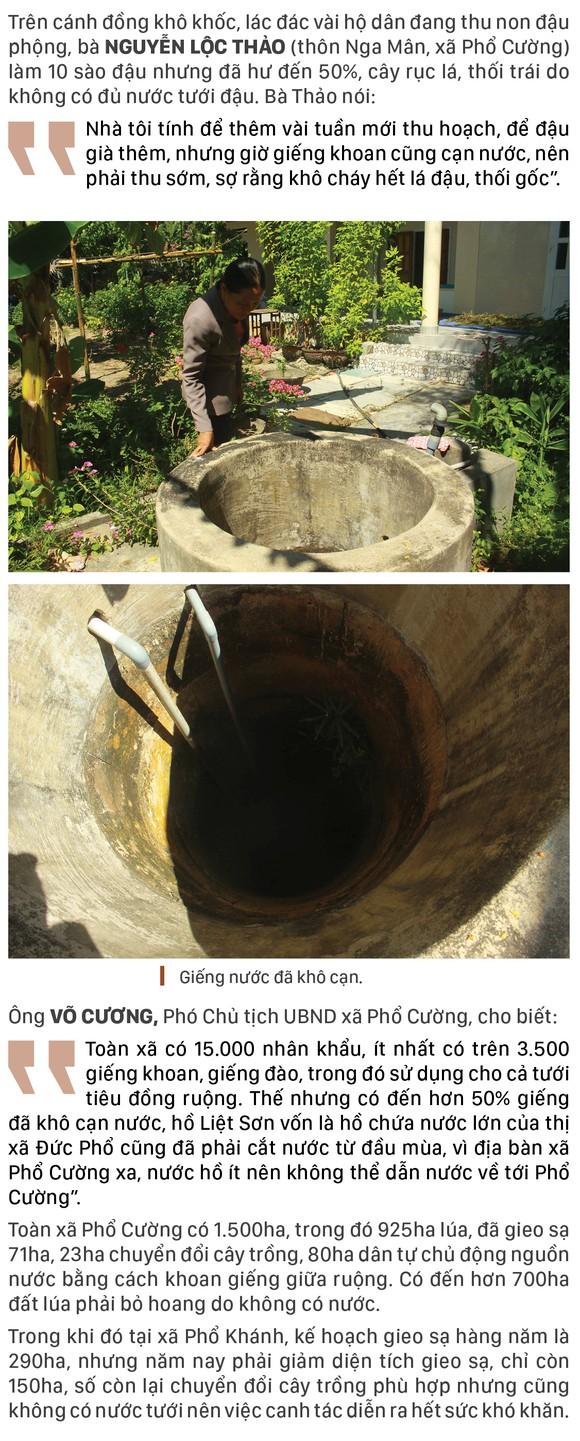 Quảng Ngãi: Khô cháy đồng, dân xách thùng mua từng giọt nước ảnh 5