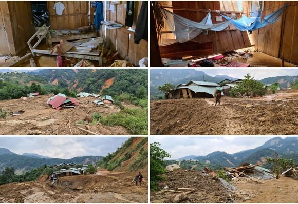 Phước Lộc tan hoang sau bão ảnh 19
