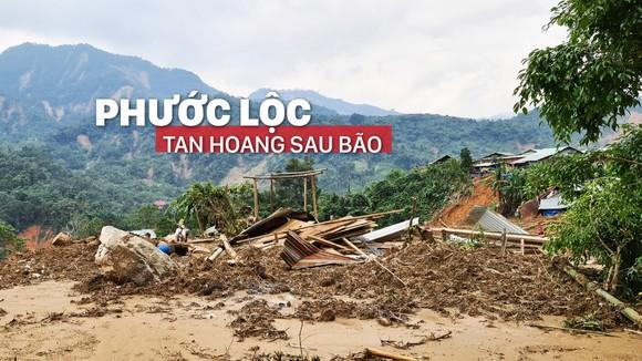 Phước Lộc tan hoang sau bão