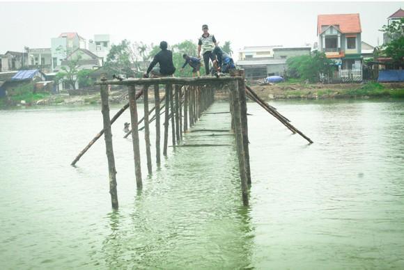 Cả làng cùng dựng cầu đón tết ảnh 22