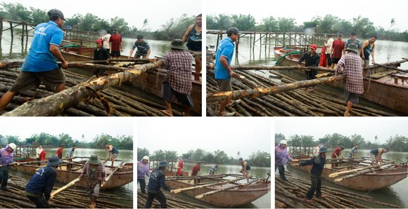 Cả làng cùng dựng cầu đón tết ảnh 3