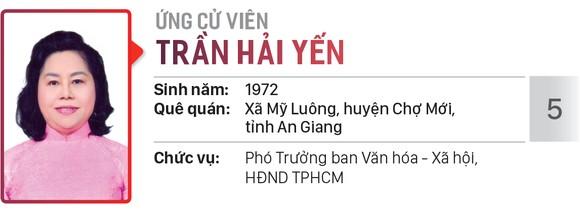 Danh sách chính thức những người ứng cử đại biểu HĐND TPHCM khóa X, nhiệm kỳ 2021 - 2026 - Đơn vị bầu cử số: 32 (huyện Nhà Bè)  ảnh 6