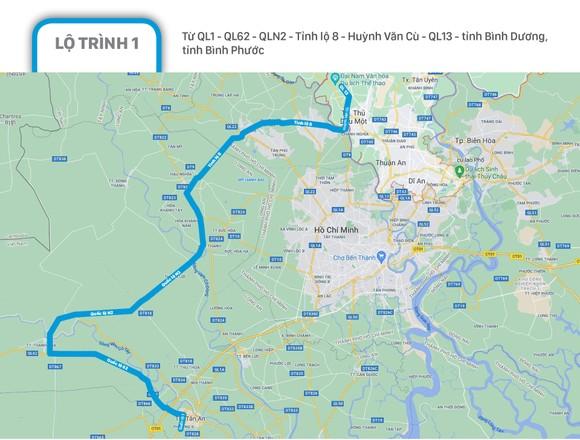 Phân luồng giao thông các phương tiện lưu thông quá cảnh TPHCM ảnh 2