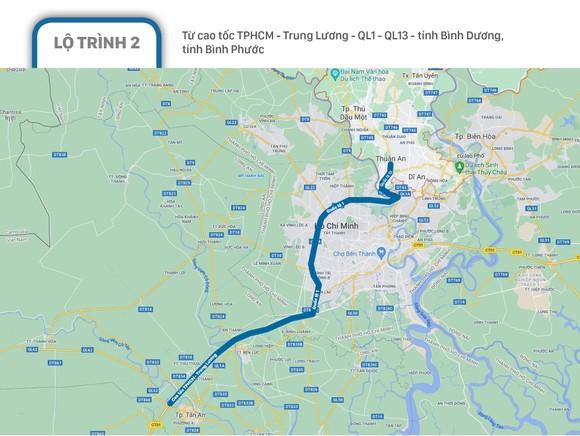 Phân luồng giao thông các phương tiện lưu thông quá cảnh TPHCM ảnh 3