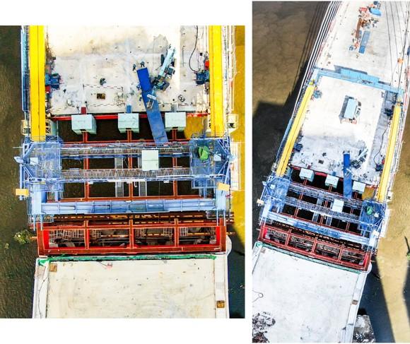 Tất bật trên các công trình trọng điểm ở TPHCM ảnh 18