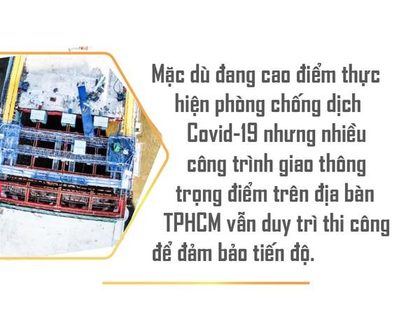 Tất bật trên các công trình trọng điểm ở TPHCM ảnh 1