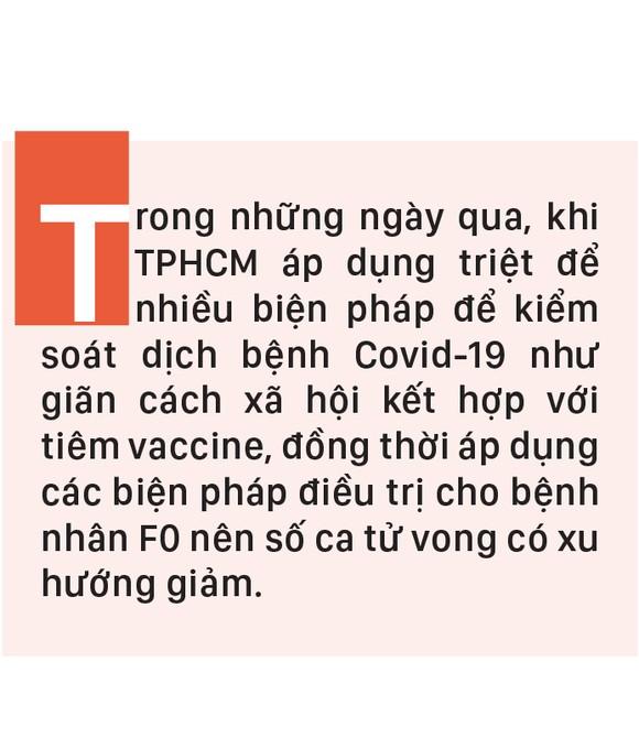 Số ca tử vong do Covid-19 tại TPHCM trên đà giảm ảnh 1