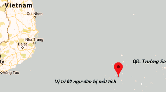 Hai ngư dân tàu cá Bình Định mất tích trên biển chưa rõ nguyên nhân ảnh 1