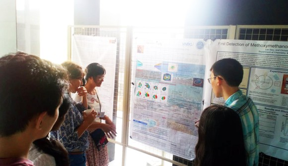 """70 nhà khoa học dự hội thảo khoa học quốc tế """"Chu trình của bụi và khí trong Dải Ngân hà""""   ảnh 8"""