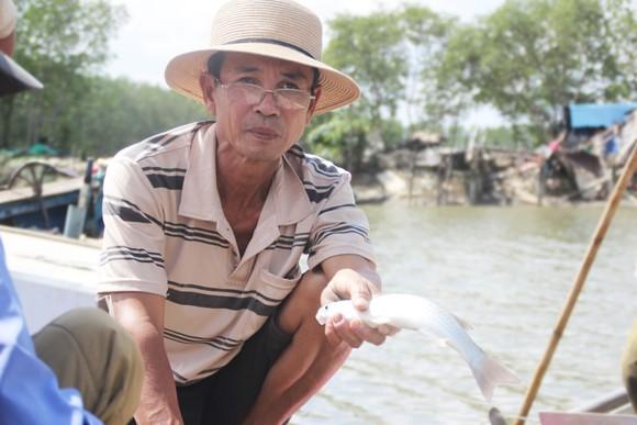 """Người nuôi cá, cua đầm Thị Nại lo """"mất tết"""" ảnh 5"""