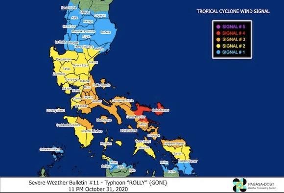 Siêu bão Goni đổ bộ vào Philippines với sức gió hủy diệt ảnh 3