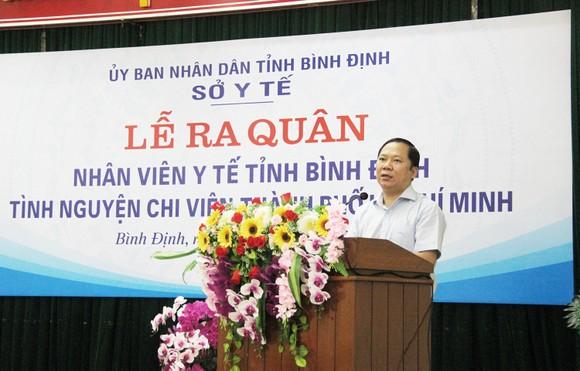 Bình Định tiếp tục tăng cường y bác sĩ vào TPHCM tham gia chống dịch ảnh 2