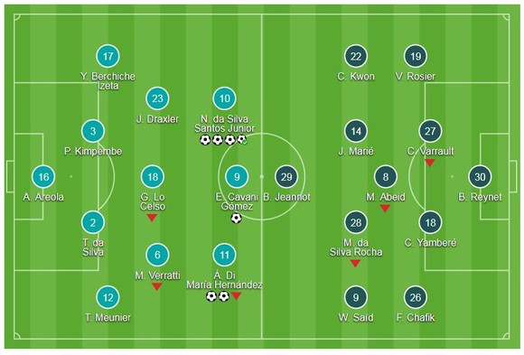 PSG hủy diệt đối thủ Dijon ảnh 1