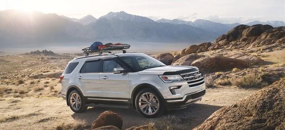 Ford Explorer có giá mới kèm chương trình chăm sóc cao cấp