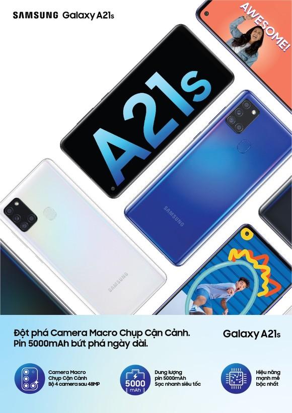 Galaxy S20 Ultra phiên bản giới hạn Trắng Thiên Vân - Thanh lịch, Tối giản - Ra mắt Galaxy A21s đột phá công nghệ camer ảnh 1