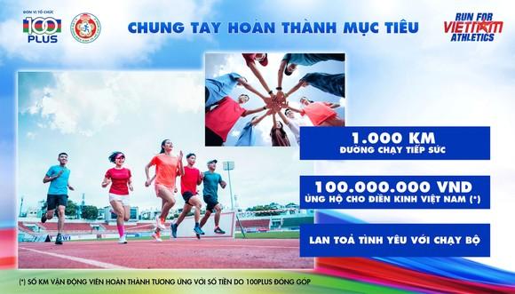 'Chạy vì điền kinh Việt Nam' gây quỹ hỗ trợ VĐV điền kinh quốc gia