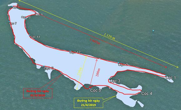 Cồn cát nổi bất thường tại biển Cửa Đại liên tục dịch chuyển, hình thành thêm doi cát ảnh 2