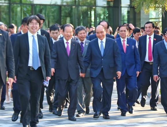 Thủ tướng tiếp Tổng Thư ký Đảng Dân chủ Tự do Nhật Bản ảnh 2