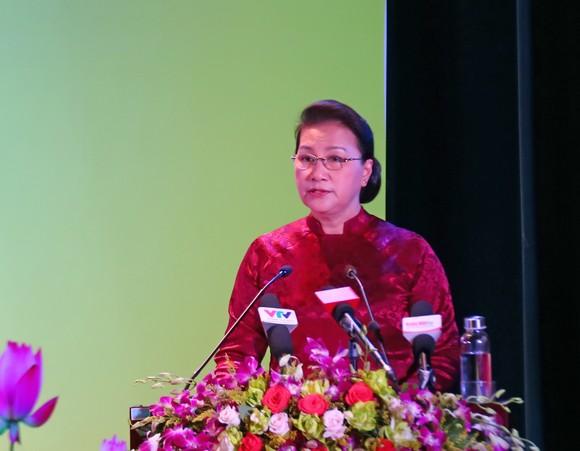 Chủ tịch Quốc hội trao Bằng Tổ quốc ghi công tới 73 thân nhân liệt sĩ tại Quảng Nam ảnh 2