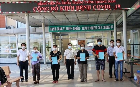 Quảng Nam công bố khỏi bệnh cho 11 trường hợp mắc Covid-19 ảnh 1