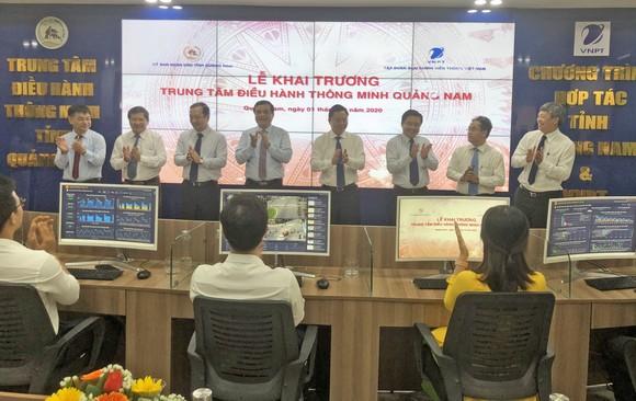 Quảng Nam ra mắt Trung tâm điều hành thông minh ảnh 1
