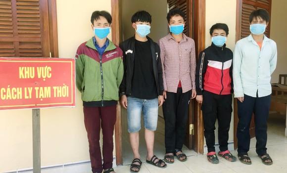 Quảng Nam bắt giữ 5 người vượt biên trái phép ảnh 1