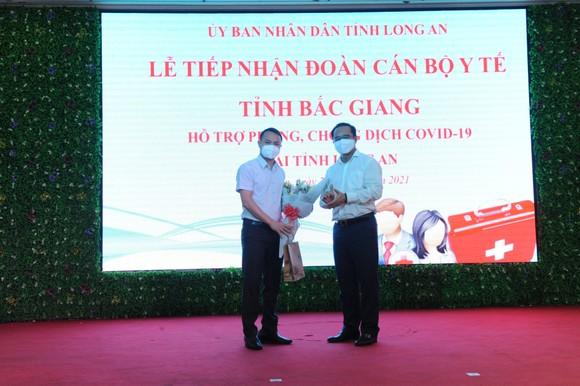 Đoàn cán bộ y tế Bắc Giang đến Long An hỗ trợ phòng chống dịch Covid-19 ảnh 1